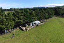 Rammed-earth home takes shape