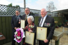 Lifetime of service to RSA recognised