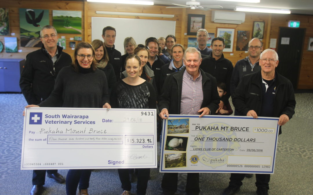 $16k raised for Pukaha