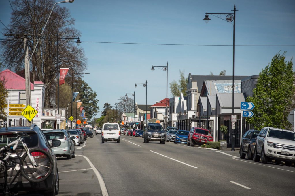 Greytown's Main St, looking South. PHOTO/JADE CVETKOV