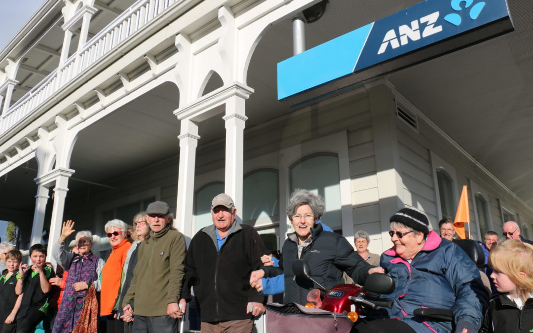 Protest fails to stir ANZ