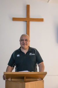 Carterton Baptist Church pastor Wayne Poutoa. PHOTO/JADE CVETKOV