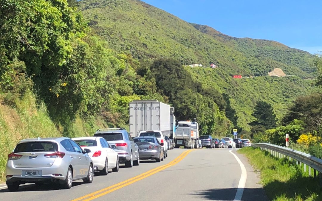 Remutaka Hill reopens after stuck trucks close road
