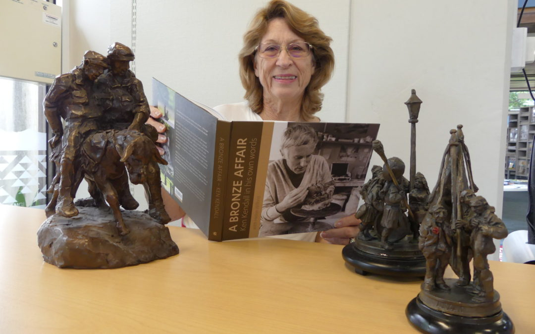 Sculptor's close ties marked