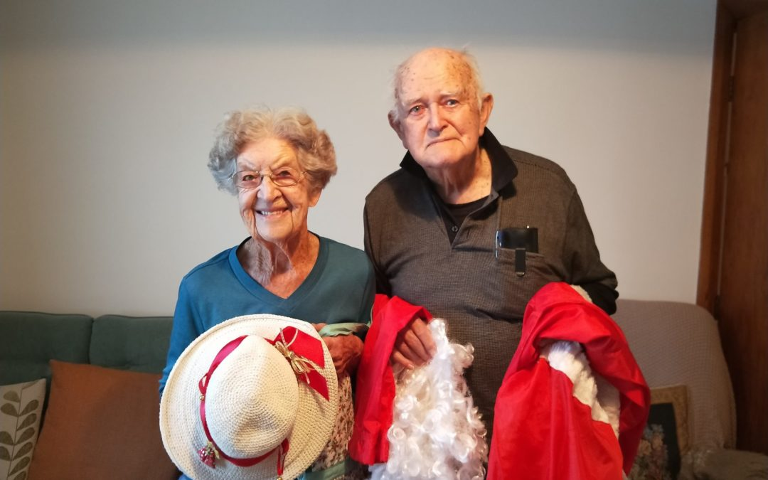 Couple's final Christmas as 'Mr and Mrs Claus'
