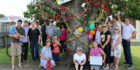 Protest to save oak tree