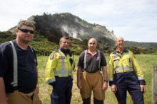 Gold Star firefighter mourned
