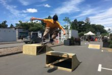 Skateboarder takes on haters
