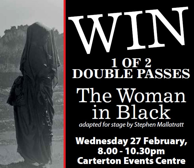 WIN 1 of 2 Double Passes to The Woman in Black