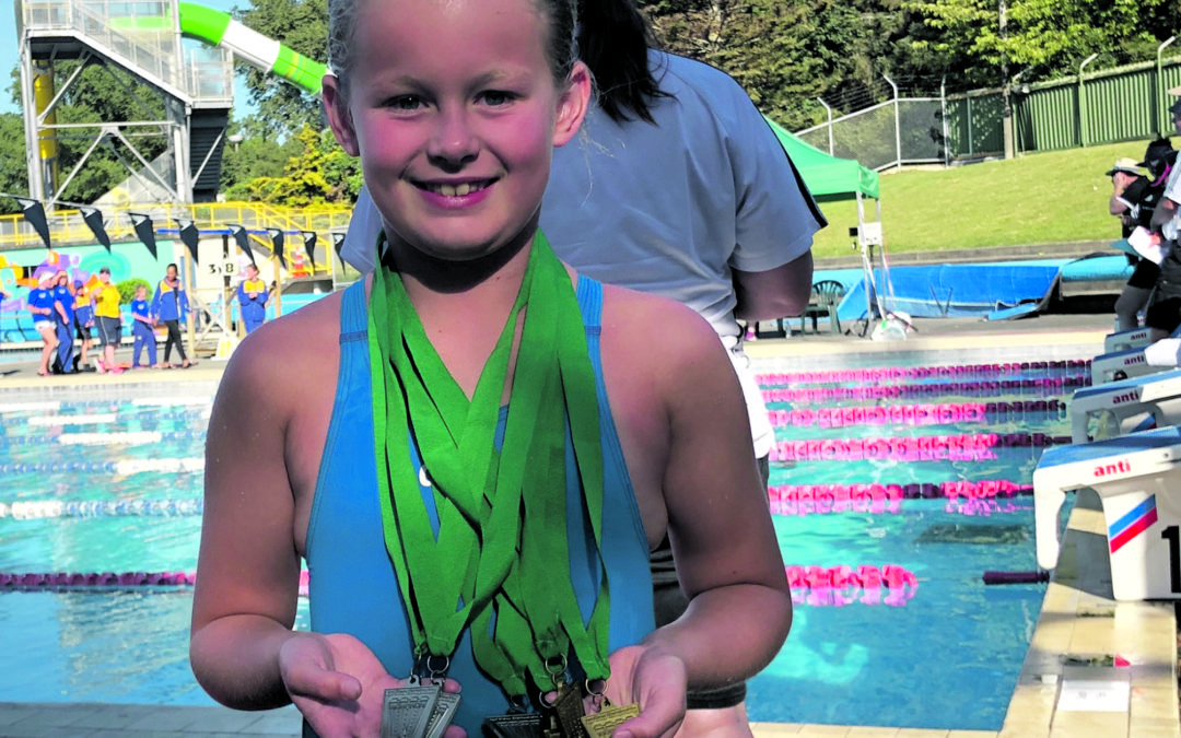 Scarlett's got a fistful of gold medals