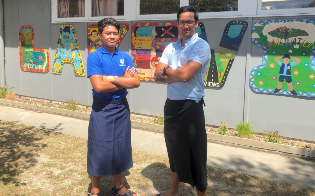 Lakeview adds lavalava to uniform