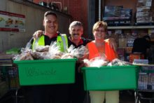 Record rescues put food on table