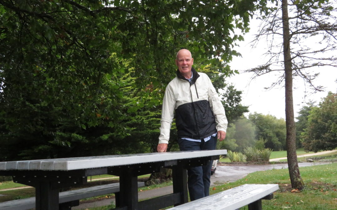 Park gets recycled plastic picnic tables