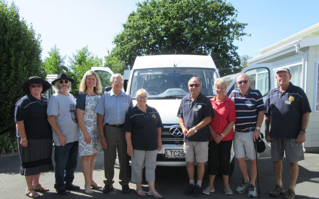 Rest home's van-tastic new ride