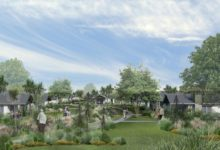An artist's impression of the proposed retirement community, The Orchards, in Greytown.