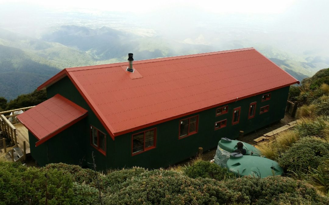 New Powell Hut almost ready