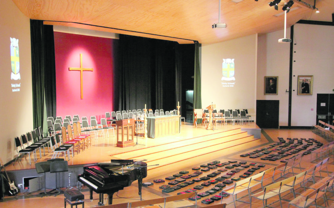 'At risk' auditorium closed