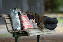 Shelter needed for town's homeless