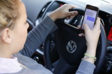 Students address dangers of phone use at wheel