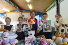Pupils collect for Christchurch