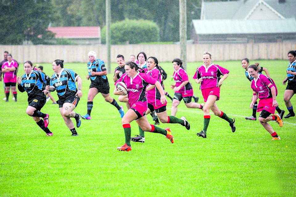 Bright future for women's rugby