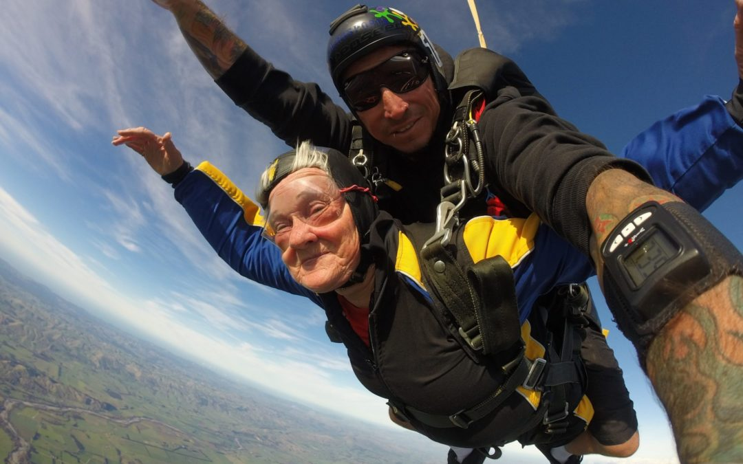 Free-falling fundraisers hit $2000 goal