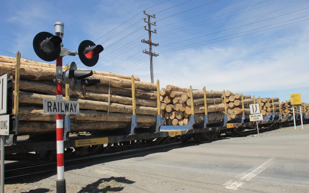 Log trains are getting longer