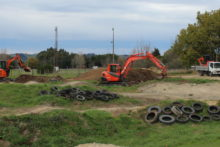 Upgrade under way for tired BMX park