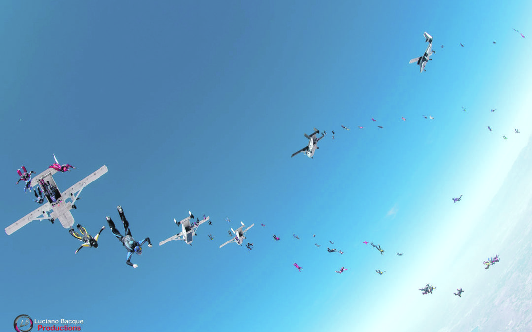 Record air for Masterton skydiver