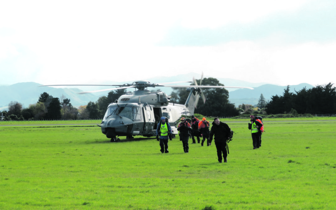 Search continues for missing tramper