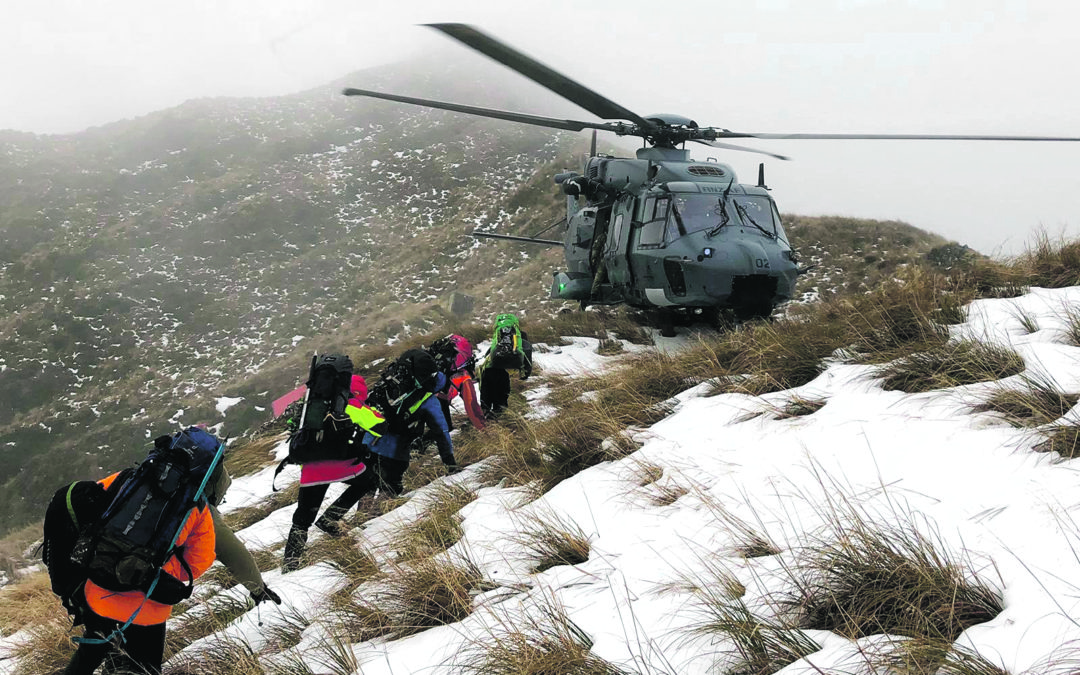 Searchers frustrated by weather