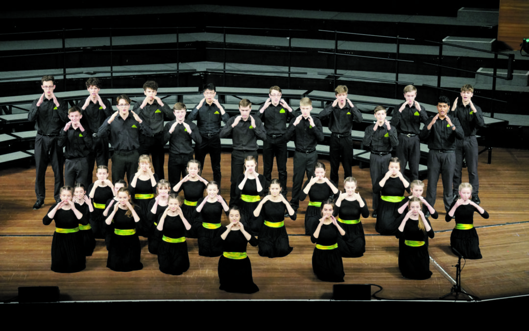 Choirs hit high notes in comps