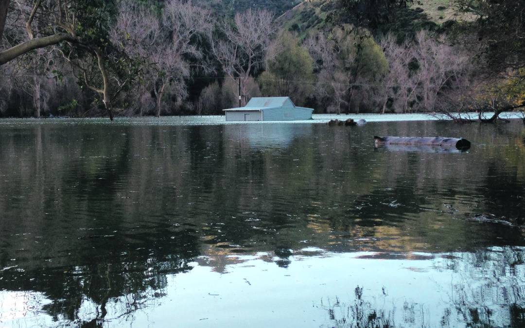 Lake forces residents out