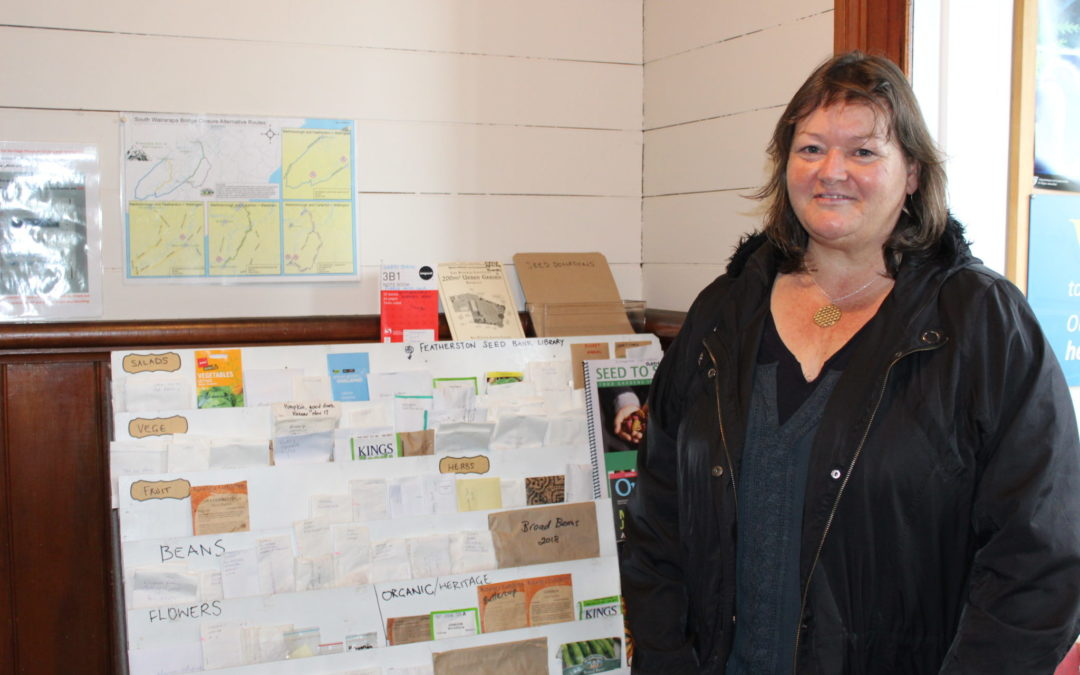 Featherston seed bank growing fast