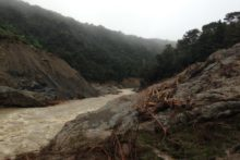 Kaiwhata dam gone in rush of water