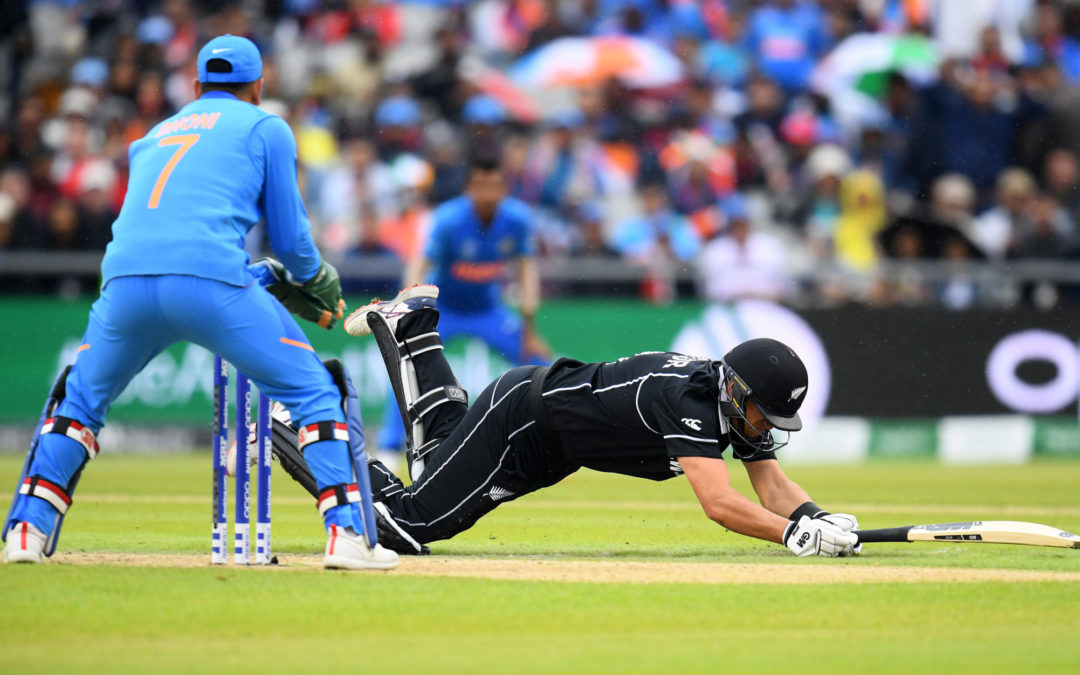 India dominate NZ before rain intervenes
