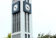Colouring in clock tower
