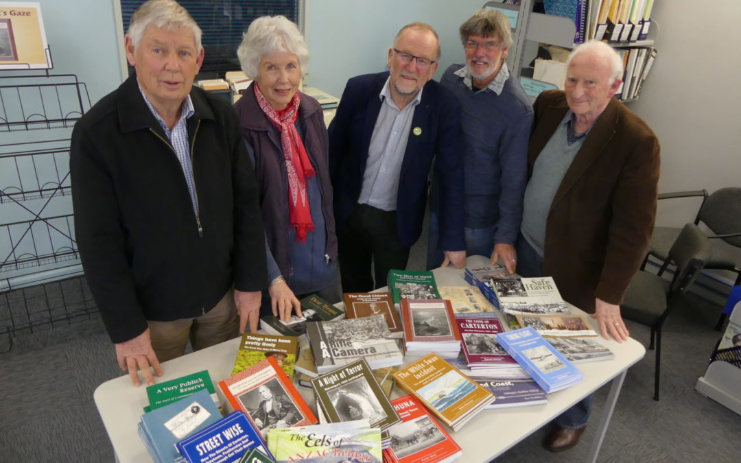 Sharing the region's history, book by book