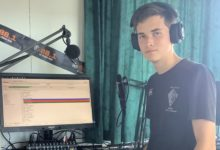 Makoura College's Alex Dahlberg, 16, has organised the second annual 24 Hours For Mental Health radio marathon. PHOTO/ERIN KAVANAGH-HALL