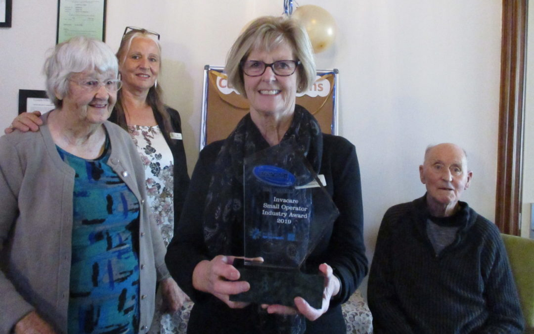 Lyndale team tops in NZ for elder care