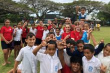 Giving and taking in Raro