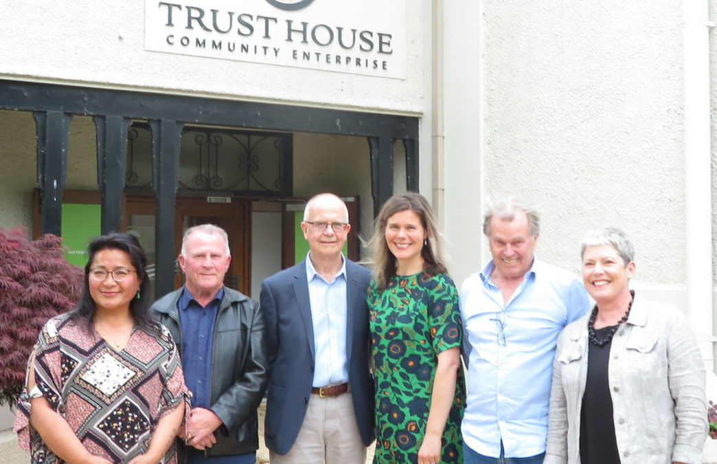 New president for local trust