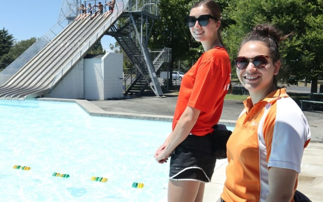 Iconic pool reopens with free swimming day