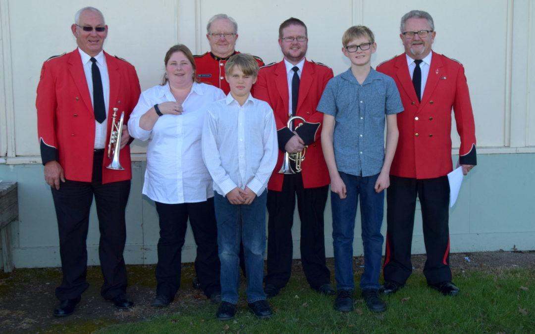 Brass band a family affair
