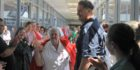 Guard of honour for nurse of 47 years
