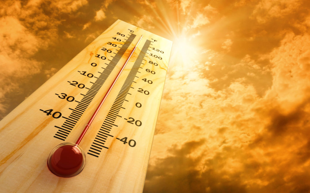 Caution advised as hot weather arrives