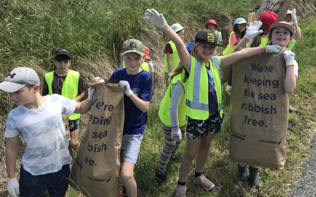 Waterways cleared of rubbish