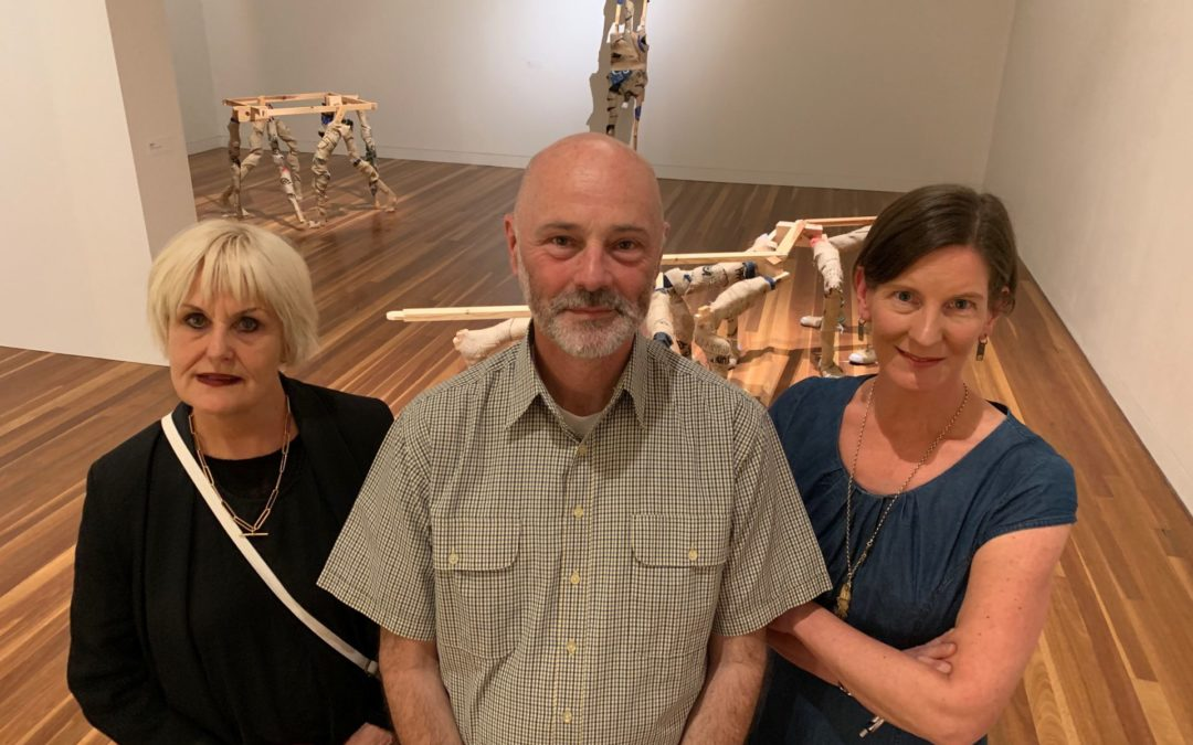 Crafters go abstract in art alliance