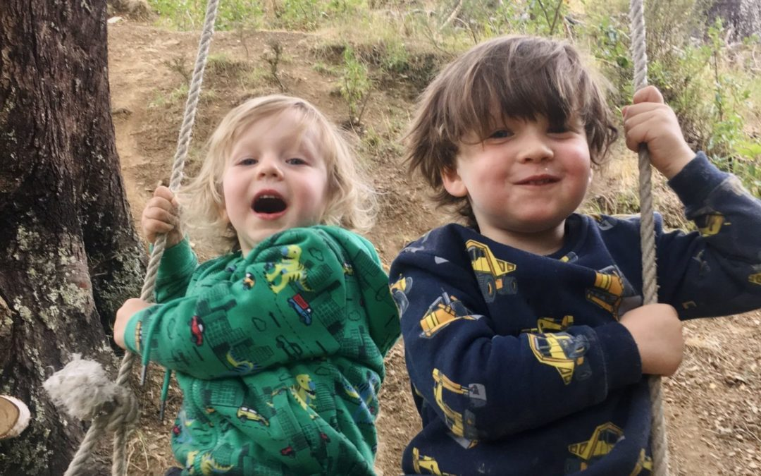 Letting kids be kids outdoors