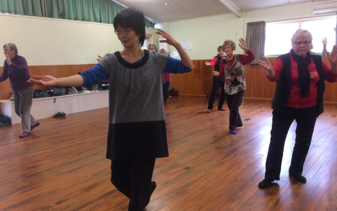Featherston's queen of tai chi